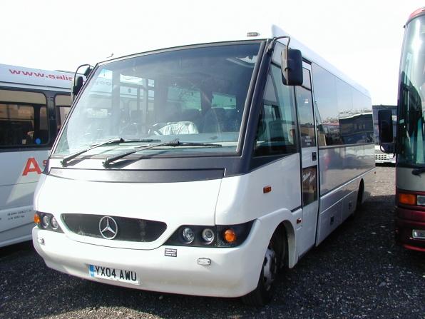 Bob Vale Coach Sales Ref 4133 Mercedes Optare Nouvelle Ii