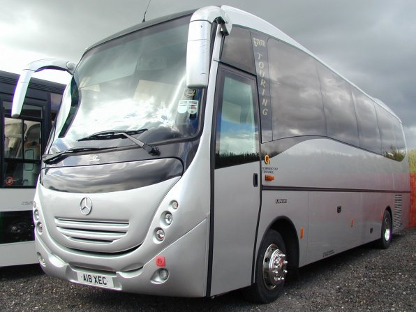 Bob vale coach sales ref 4309 mercedes 1223 atego unvi for Mercedes benz touring coach